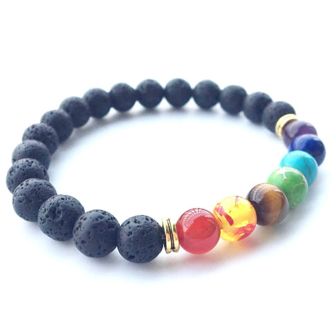 Fashion Universe Galaxy the Eight Planets Solar System Guardian Star Natural Stone Beads Bracelet Bangle