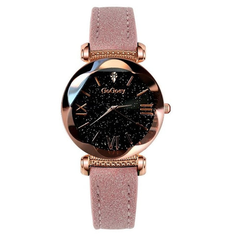 New Ladies Luxury Watch Starry Sky Fashion Diamond