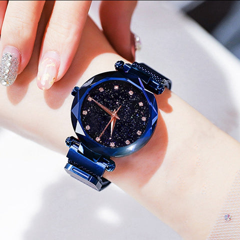 Luxury Starry Sky Wristwatch Women