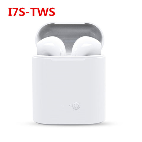 LUOKA Hot Sell i9S TWS Mini Bluetooth Earphones Wireless Headset Stereo Earbud Headset With Charging Box Mic For All Smart phone