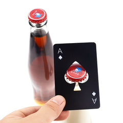 Poker Card Beer Bottle Opener - Party Decor Bar Accessories