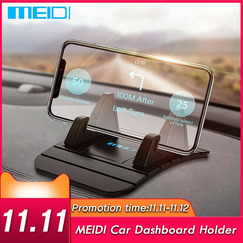 Car Dashboard Non-slip Mat Rubber Mount Phone Holder