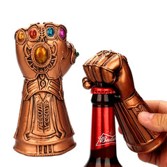 Creative Beer Bottle Opener Infinity Thanos Gauntlet Glove Soda Glass Caps Remover Long Handle Hammer Of Thor Shaped Beer Opener