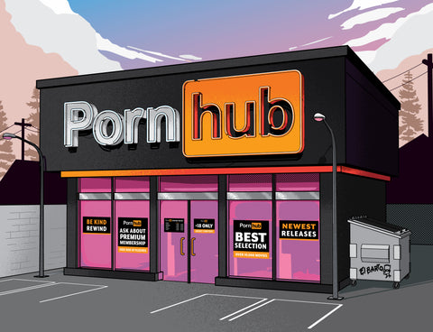 Pornhub in the nineties