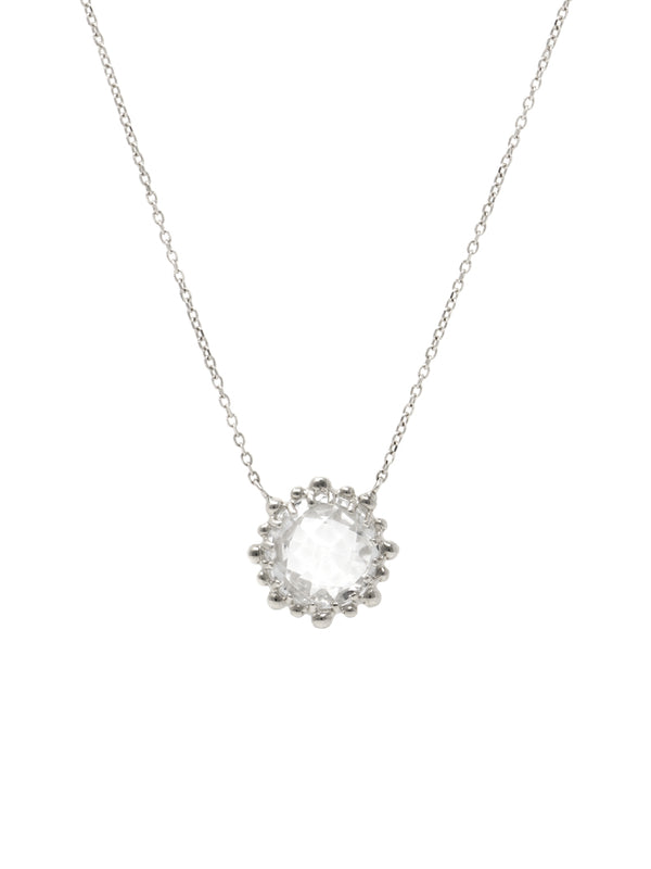 Dew Drop Mini Round Necklace