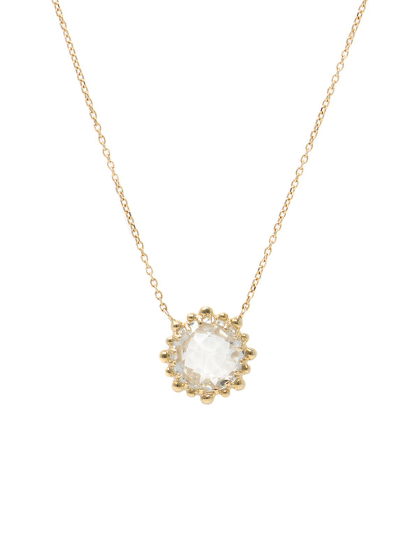 Dew Drop Round Necklace