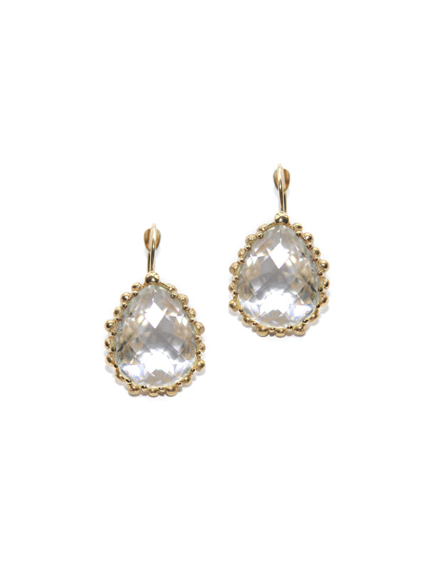 Dew Drop Pear Earrings