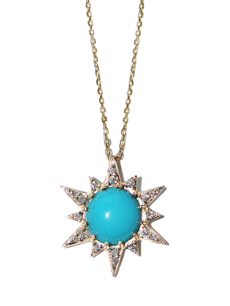Aztec Starburst Necklace