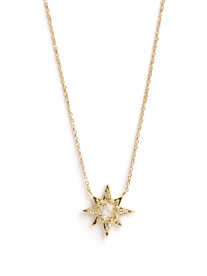 Aztec Mini Starburst Necklace