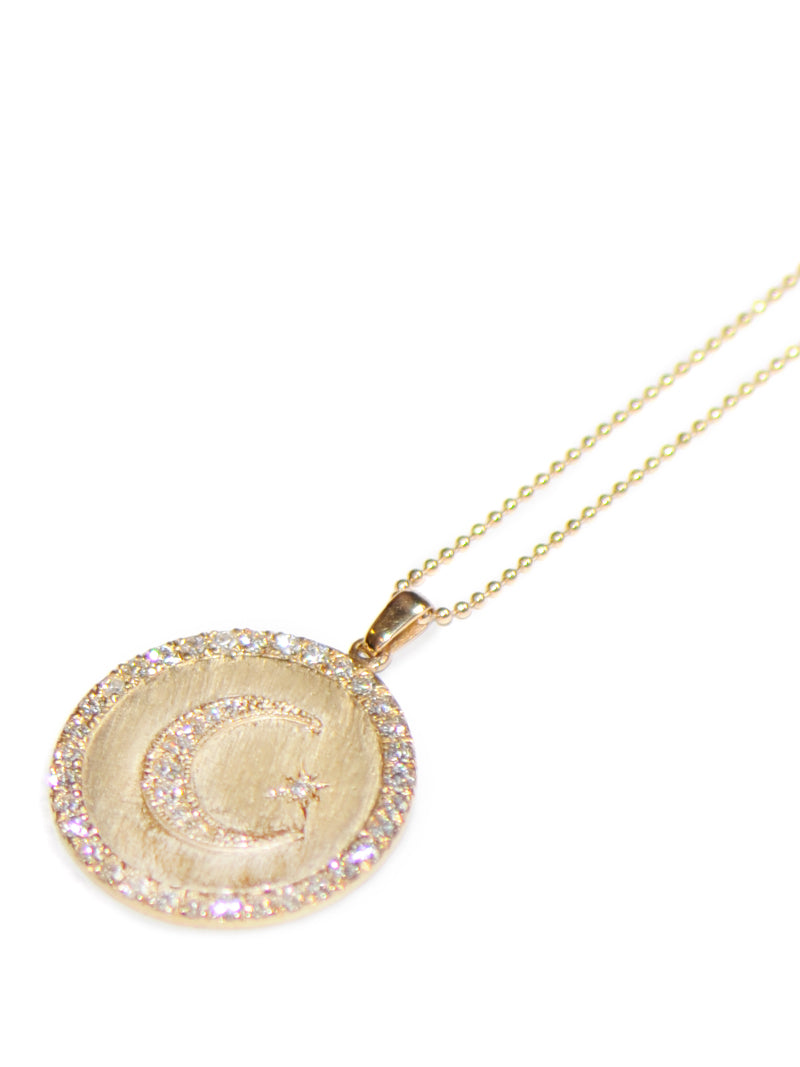 Royale Celestial Moon Crescent Medallion