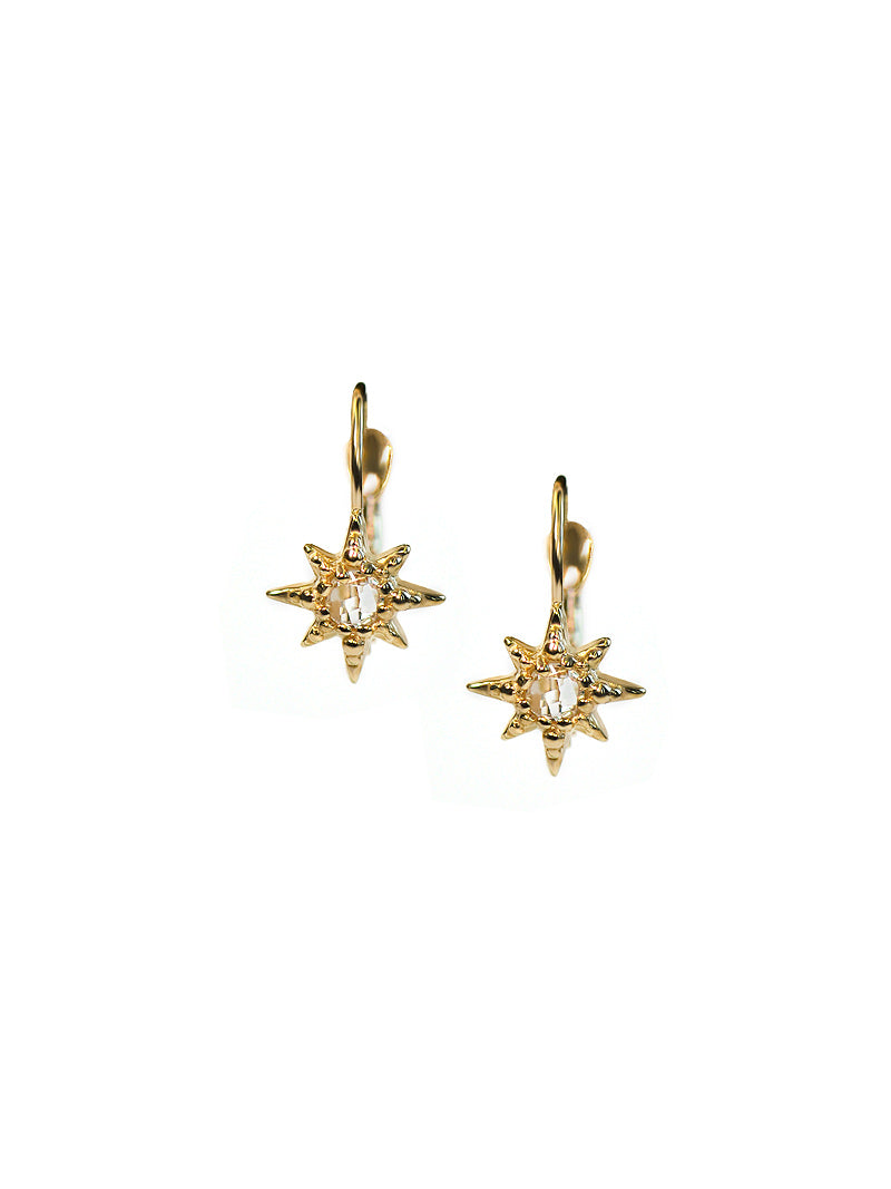 Micro Aztec Starburst Earrings