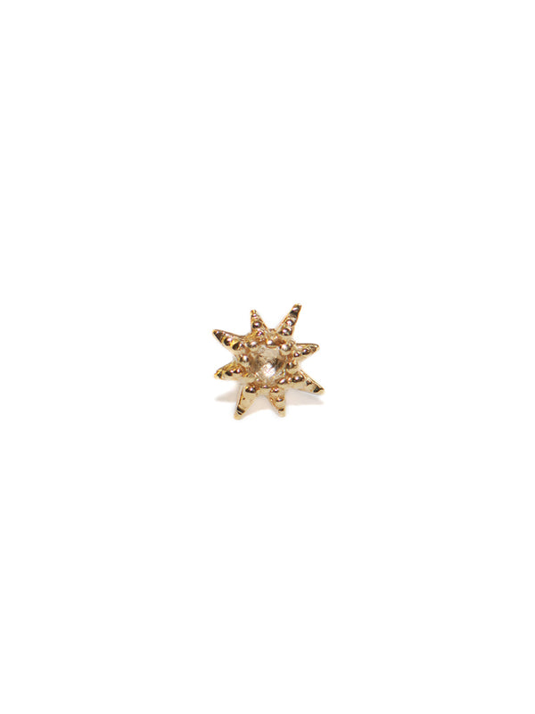 Micro Aztec Starburst Single Stud