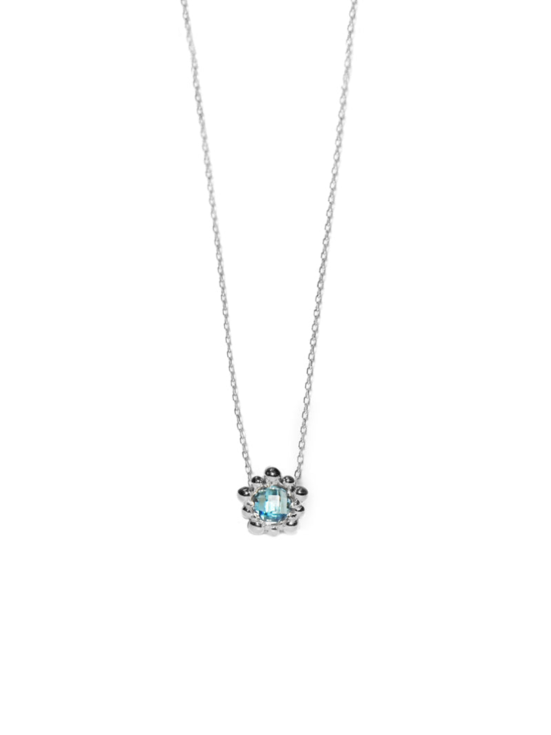 Micro Dew Drop Solitaire Necklace