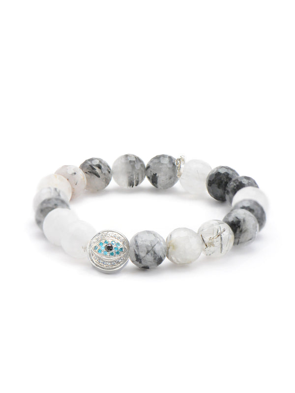 Boheme Tourmalinated Quartz Bracelet