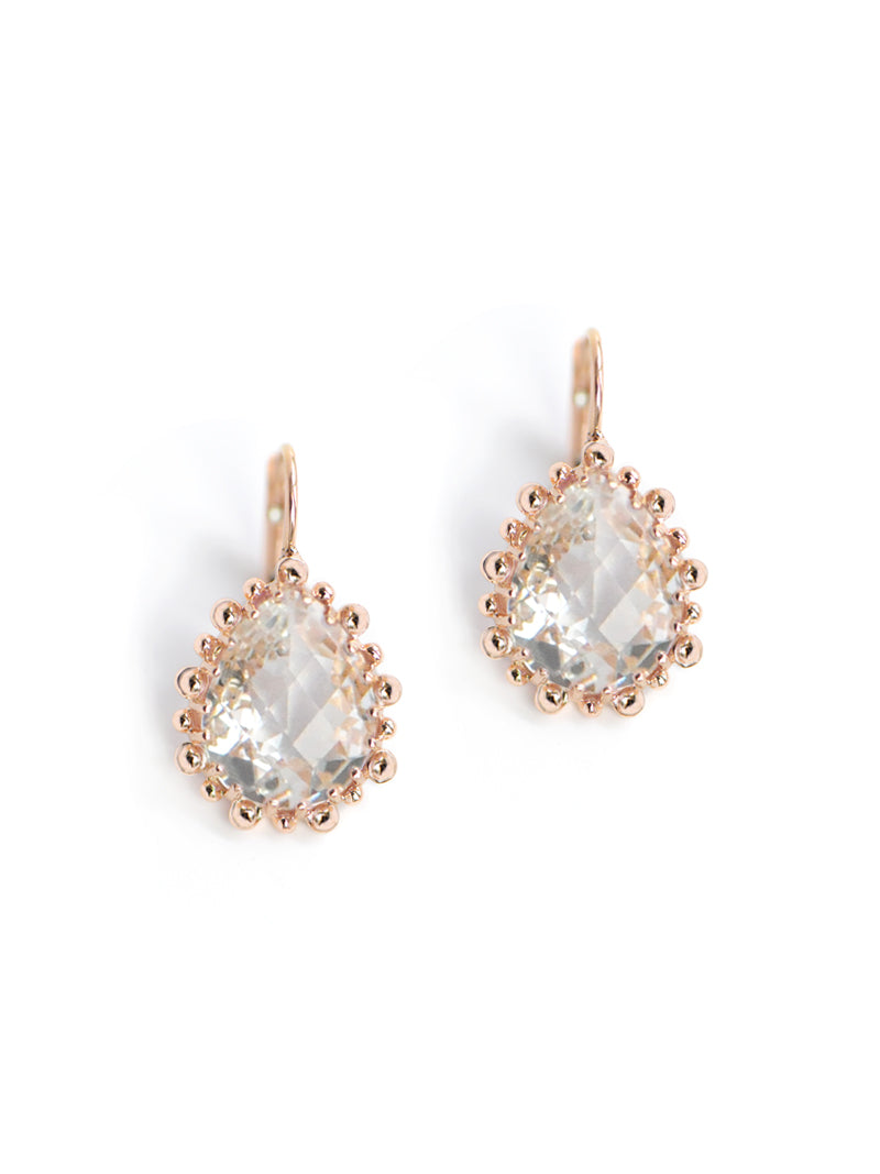 Dew Drop Pear Drop Earrings