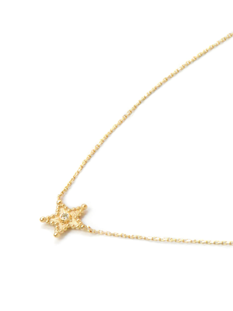 Dew Drop Star Necklace
