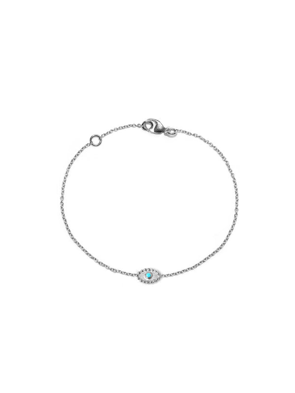 Dew Drop Evil Eye Bracelet