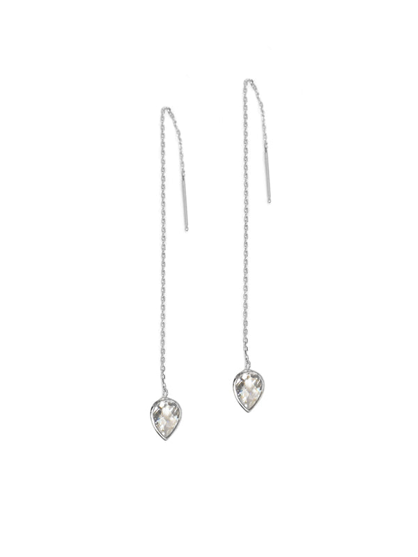 Classique Pear Chain Earrings