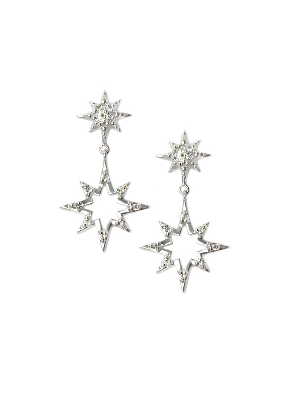 Starburst Silhouette Earrings