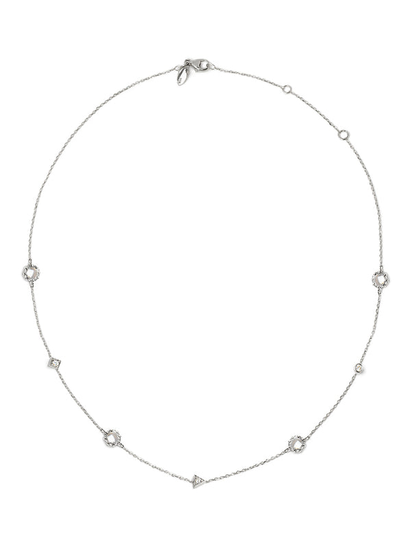 Cléo Geometric Crew Necklace