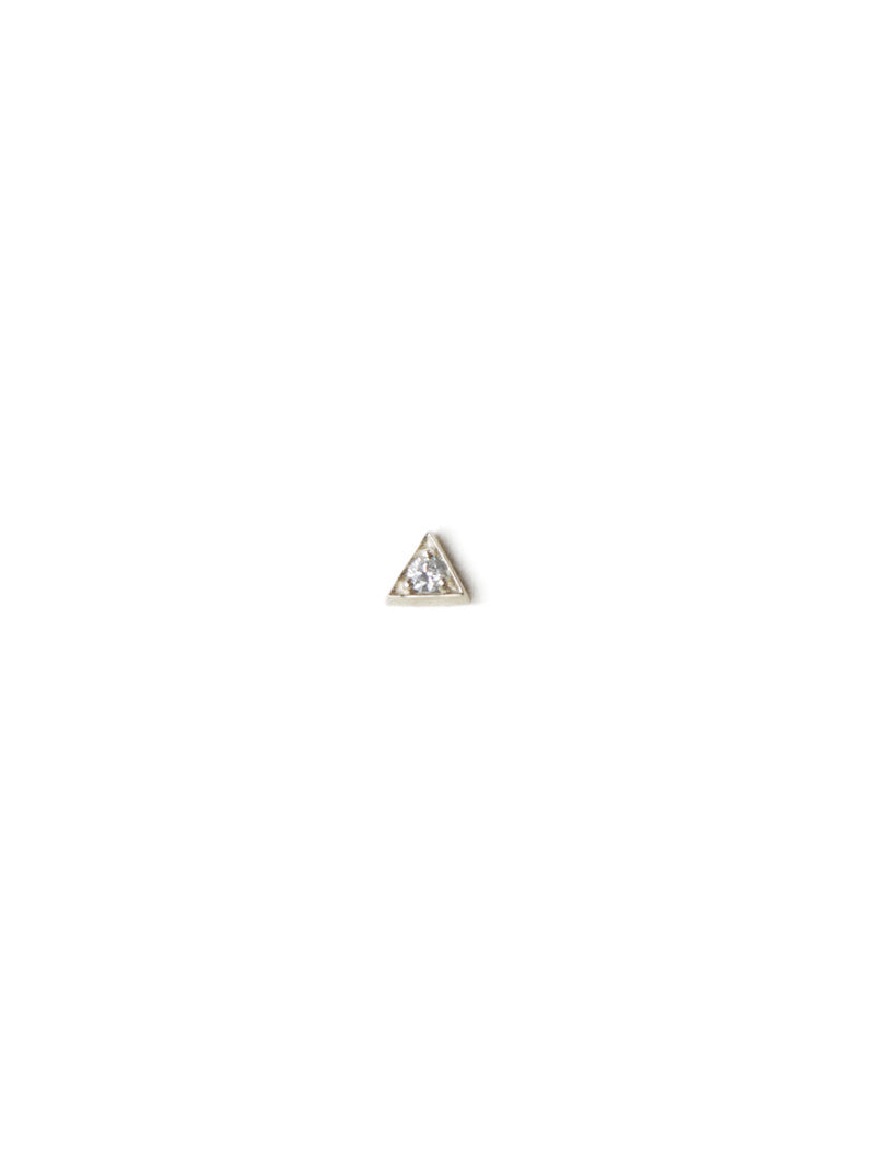 Cléo Triangle Single Stud