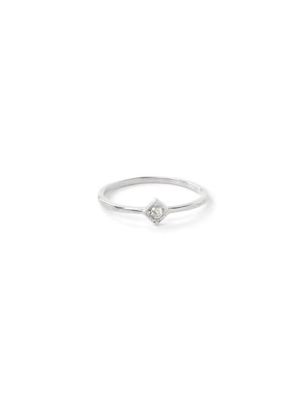 Cléo Square Stackable Ring