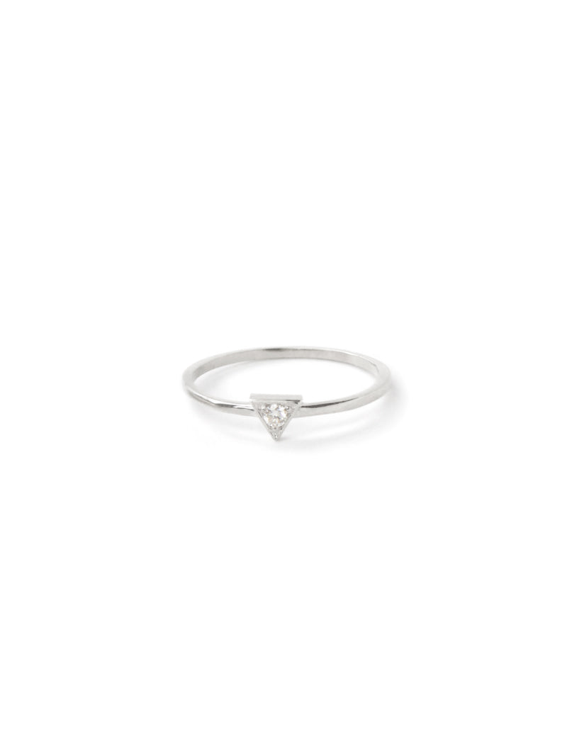 Cléo Triangle Stackable Ring