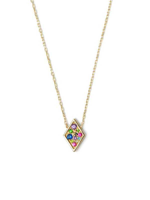 Cléo Diamond Shaped Necklace
