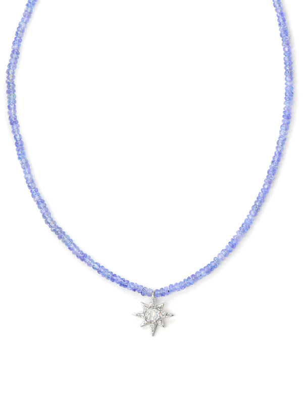 Aztec Starburst Rondelle Necklace