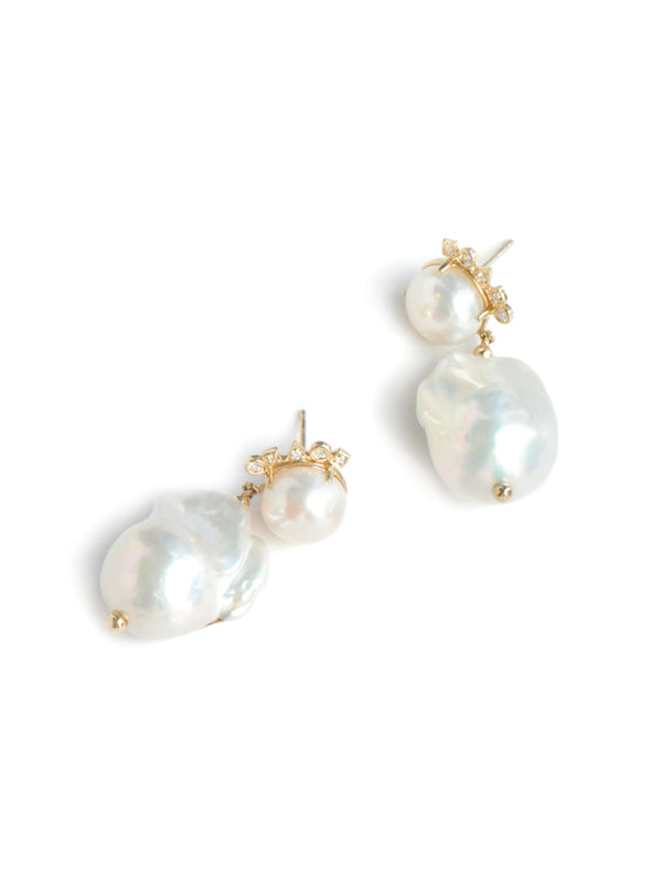 Cléo Baroque Pearl Earrings