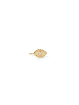 Dew Drop Evil Eye Single Stud