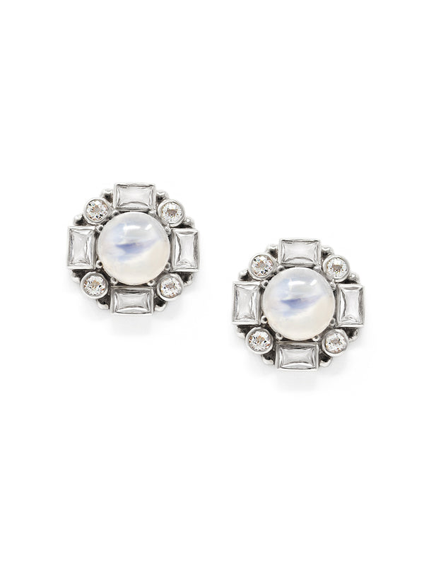 Cleo Baguette Royale Studs