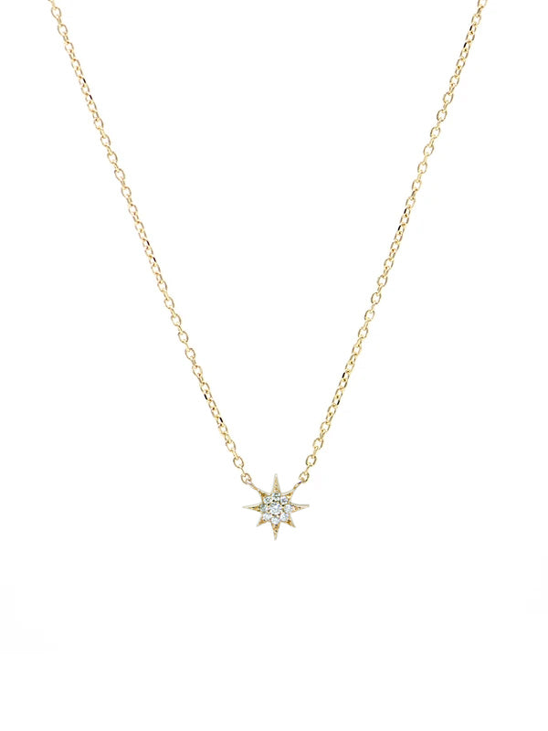Mini Aztec North Star Necklace