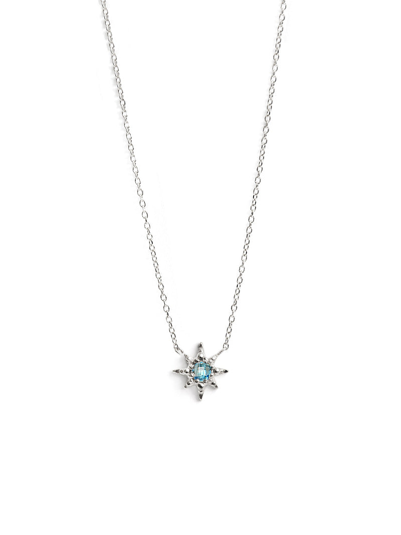Micro Aztec Starburst Necklace