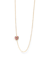 Love Letter Pavé Heart Necklace