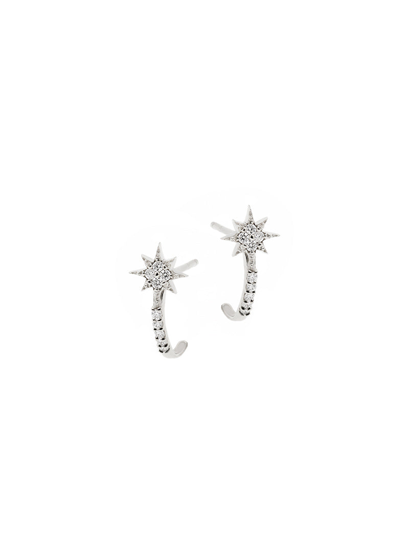 Micro Aztec North Star Half Hoops