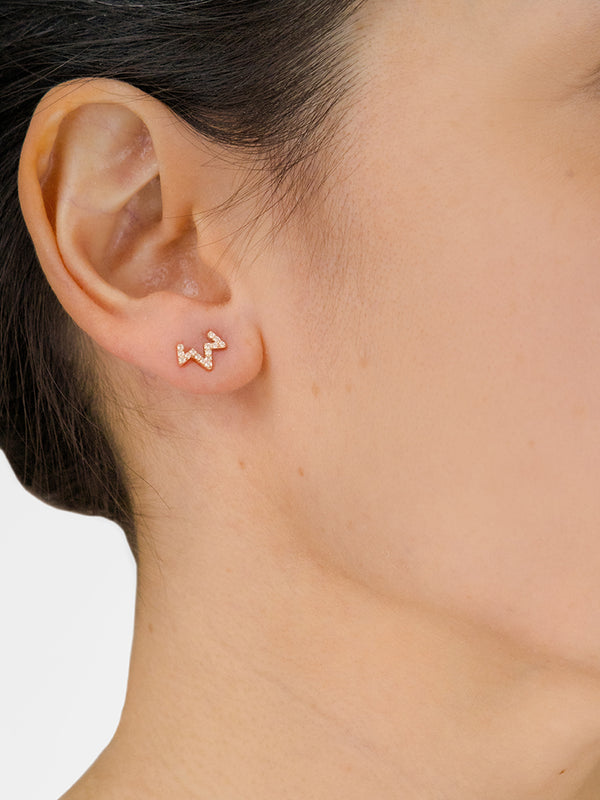 Aztec Starburst Zig Zag Single Stud