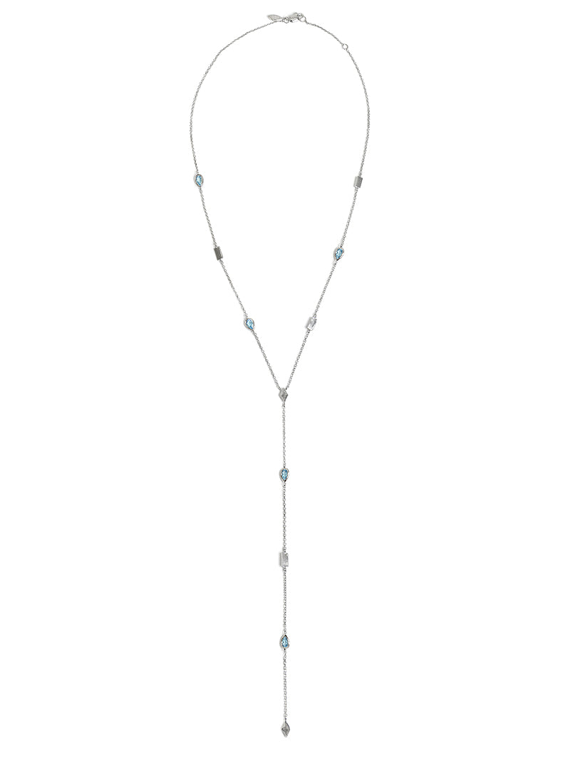Cléo Solid Station Y-Necklace