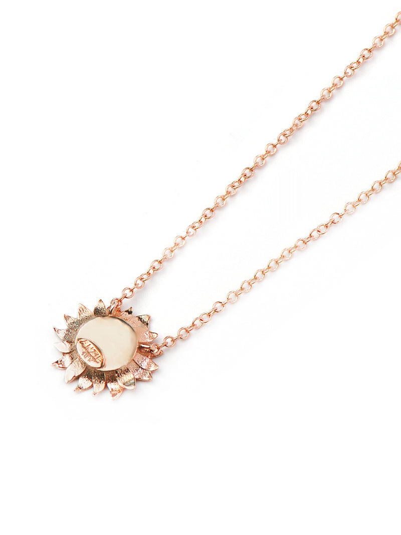 Hope Sunflower Necklace