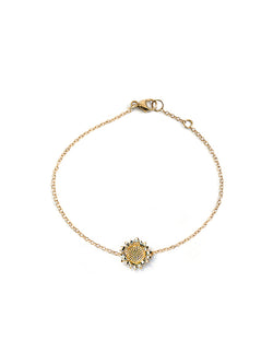 Hope Sunflower Bracelet