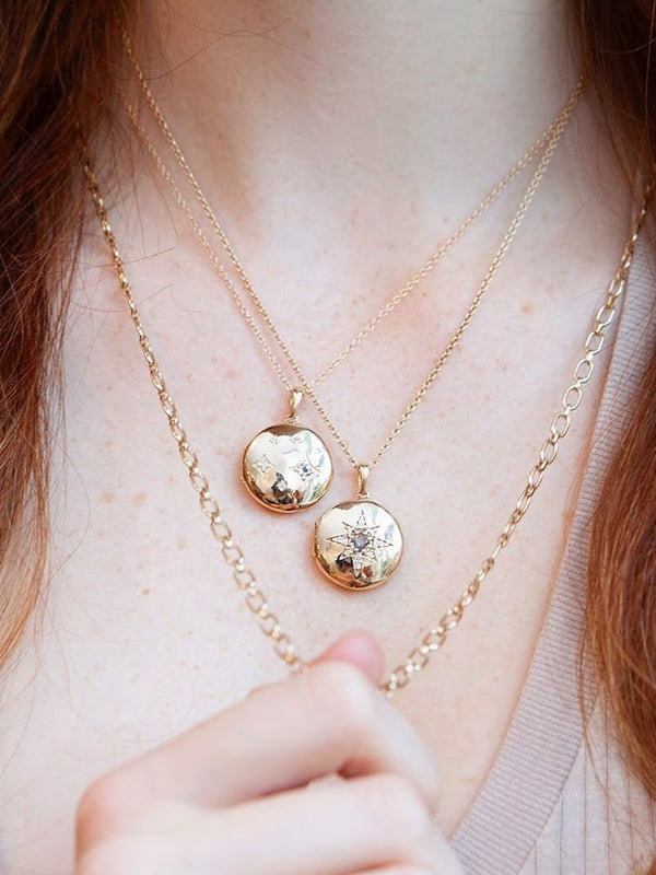 Jac+Jo Gothic Diamond Locket