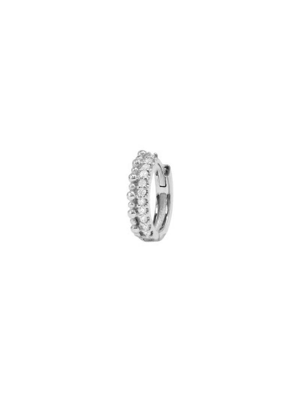 Dew Drop Pavé Double Huggie