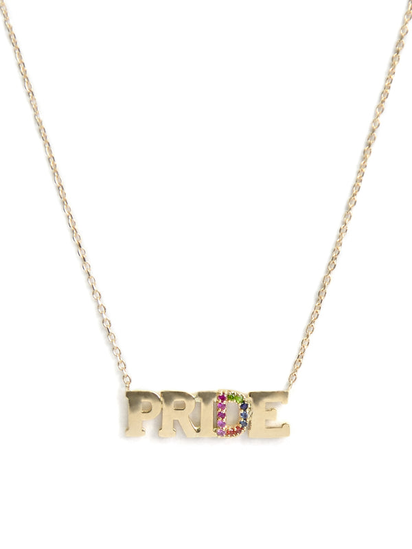 Customizable Love Letter PRIDE Necklace