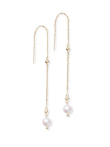 Dew Drop Chain Earrings
