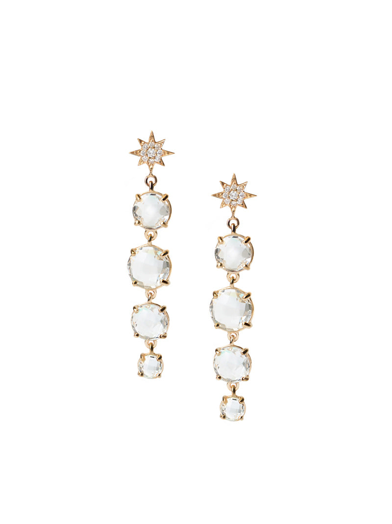 Aztec North Star Melia Earrings