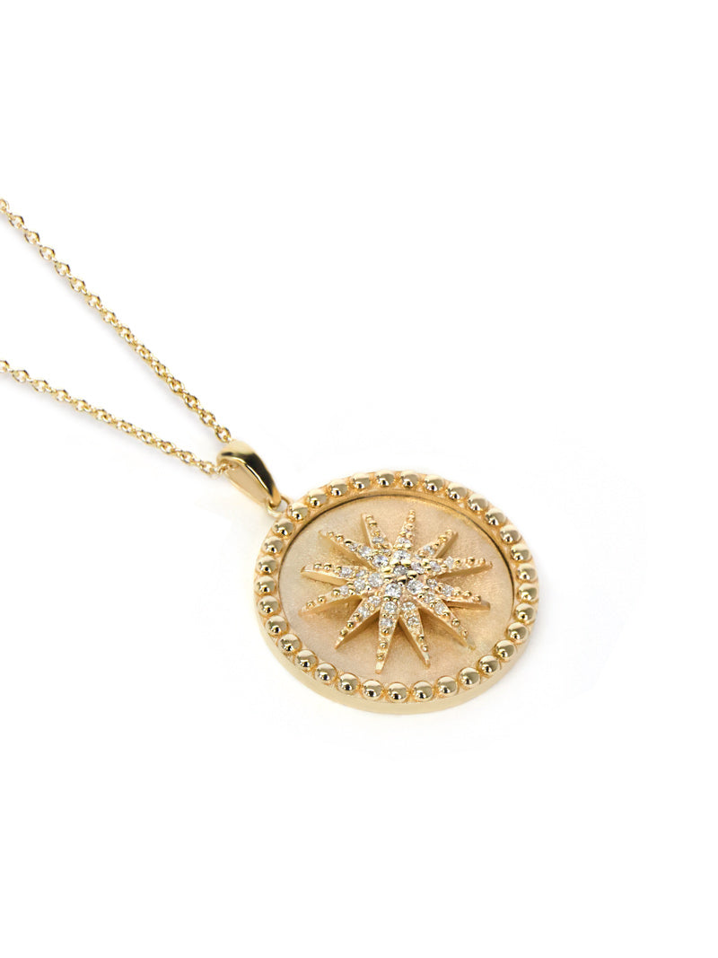 Dew Drop Celestial Burst Medallion