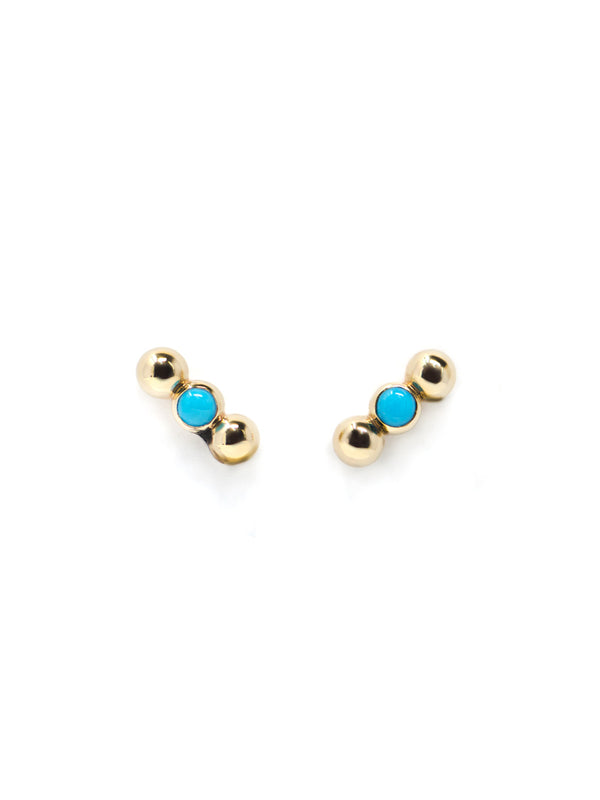 Dew Drop Marine Bar Studs