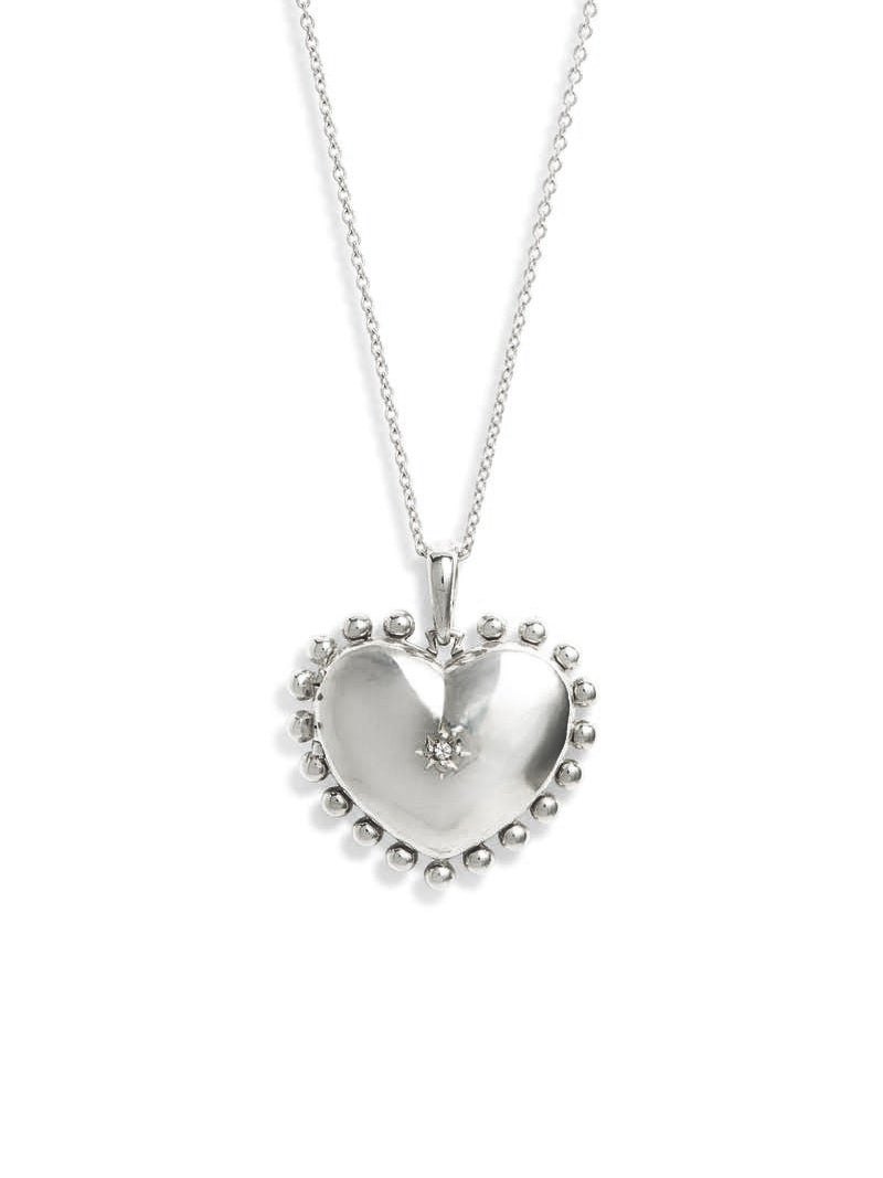 Dew Drop Heart Locket