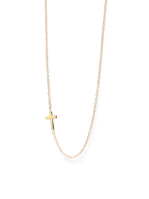 Love Letter Cross Necklace