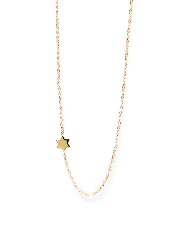 Love Letter Star of David Necklace
